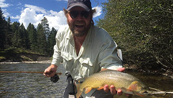 Montana fly fishing guides your secret to success on the for Private trout fishing in missouri