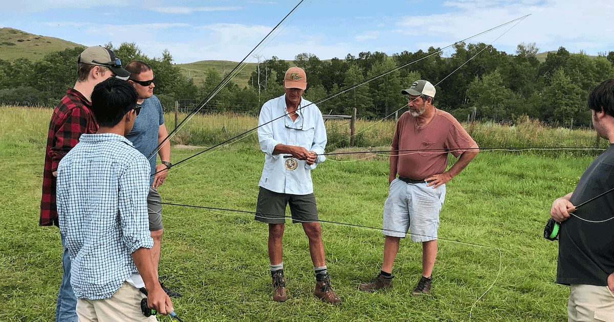 Fly Fishing Lessons In Montana Stillwater Anglers